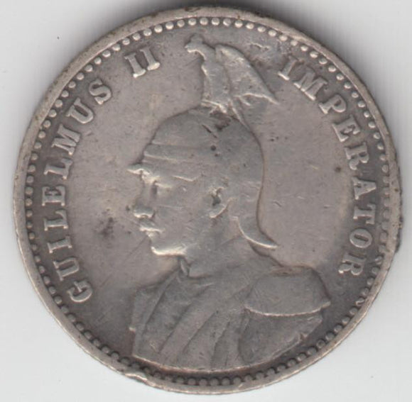 German EAST AFRICA 1/4 Rupee 1913 J