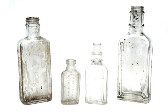 Antique Filipiniana Medicine bottles