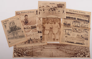Set of 1934-1935 Olympic and Tennis related Philippine newspaper and magazine issues