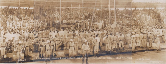 Proclamation and Inauguration of Republic of the Philippines Panorama