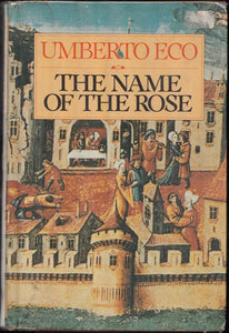 Umberto Eco Name of the Rose First Edition (1980)