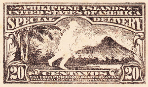 US-Philippines 20 centavos Special Delivery PROOF