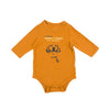 Baby Long Sleeve Skipper Bodysuit