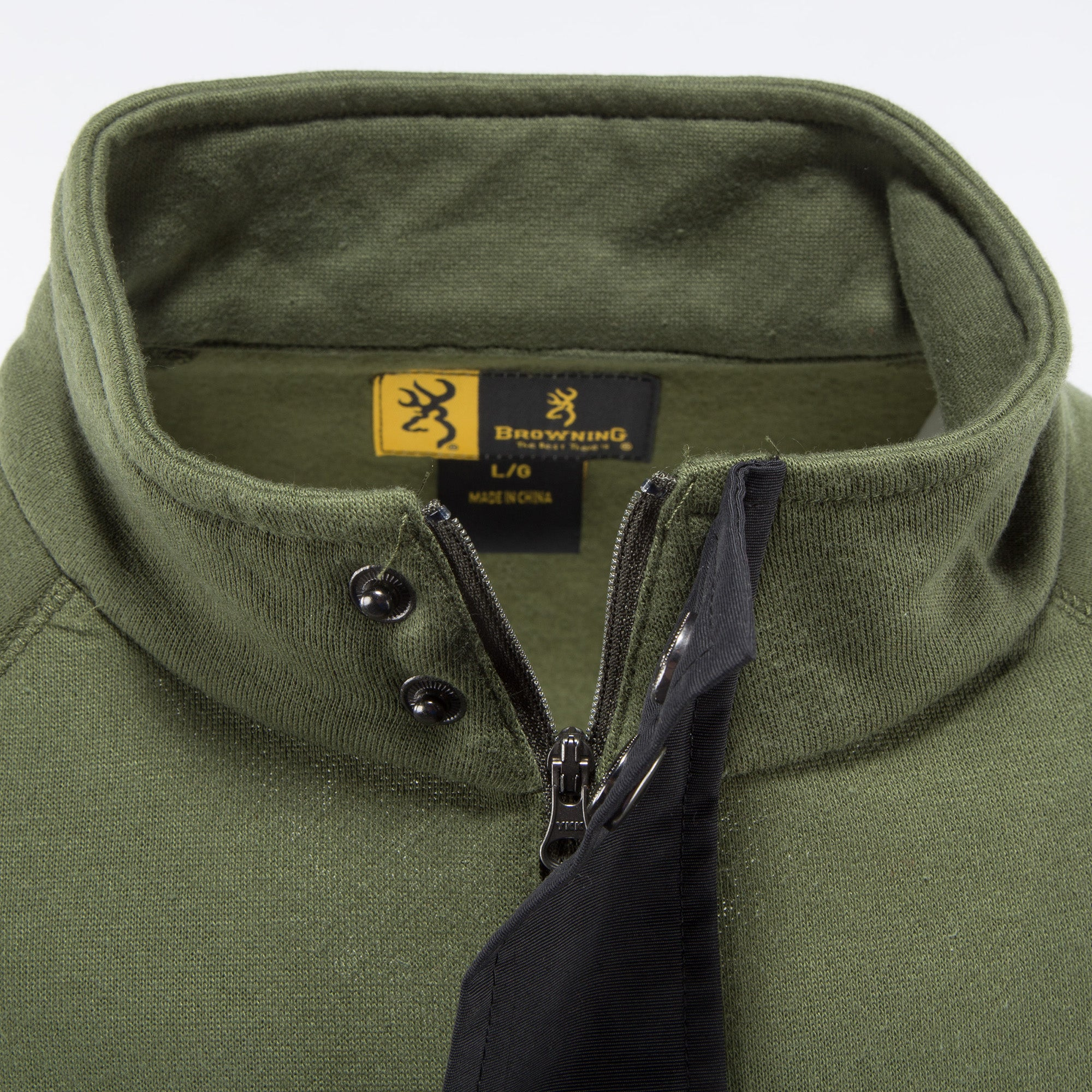 Browning Men/'s Green Sweatshirt