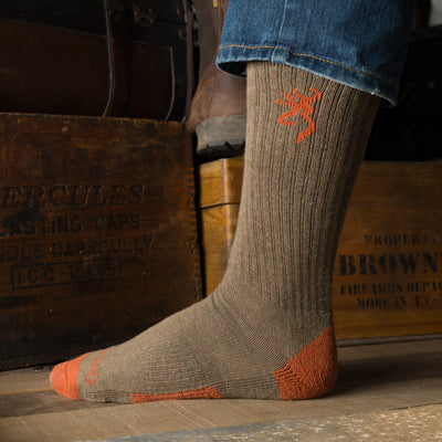 Browning Men's 3-Pack Everyday Crew Sock