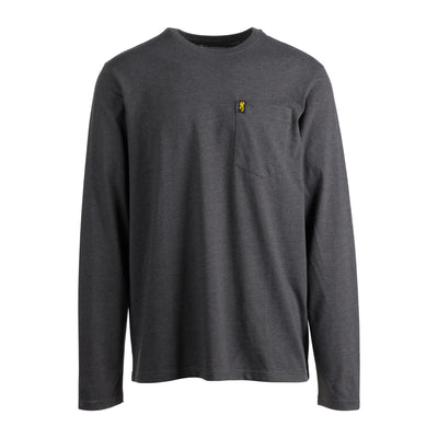 Men's Long Sleeve Pocket T-Shirt