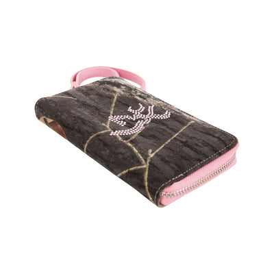 Women's Camo Bling Wallet