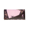 Women's Pink Camo Continental Wallet