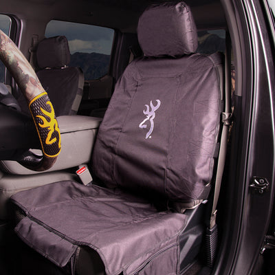 Tactical Low Back Seat Cover | Black/White