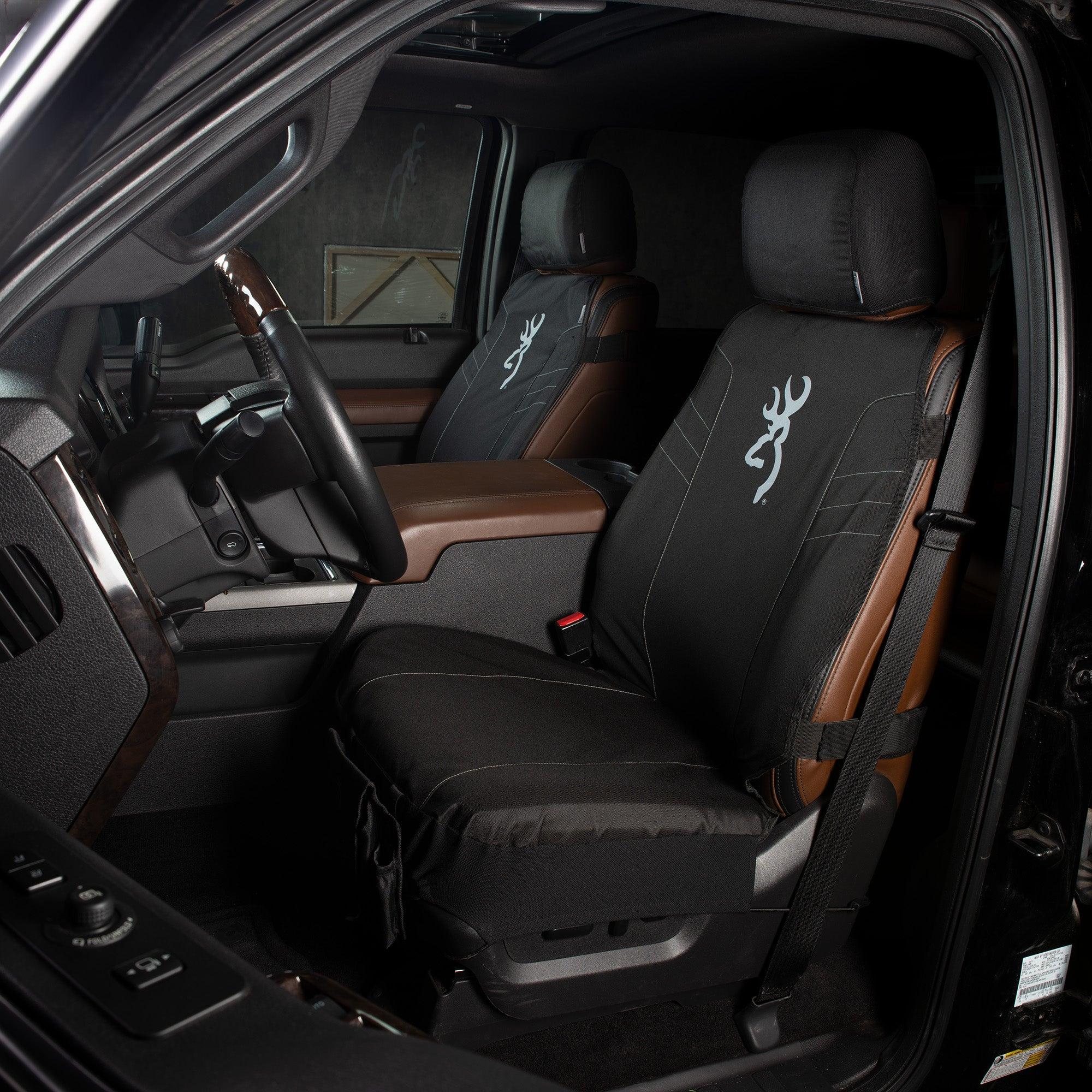 Tactical Low Back Seat Cover Black 2 0 Browning Lifestyle