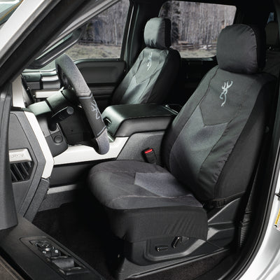 Heather Black Low Back Seat Cover