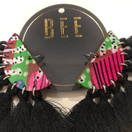 EARRINGS | BEE Deluxe Drops - Bret Black