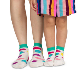 Papa & Me Socks | Coloured Dots