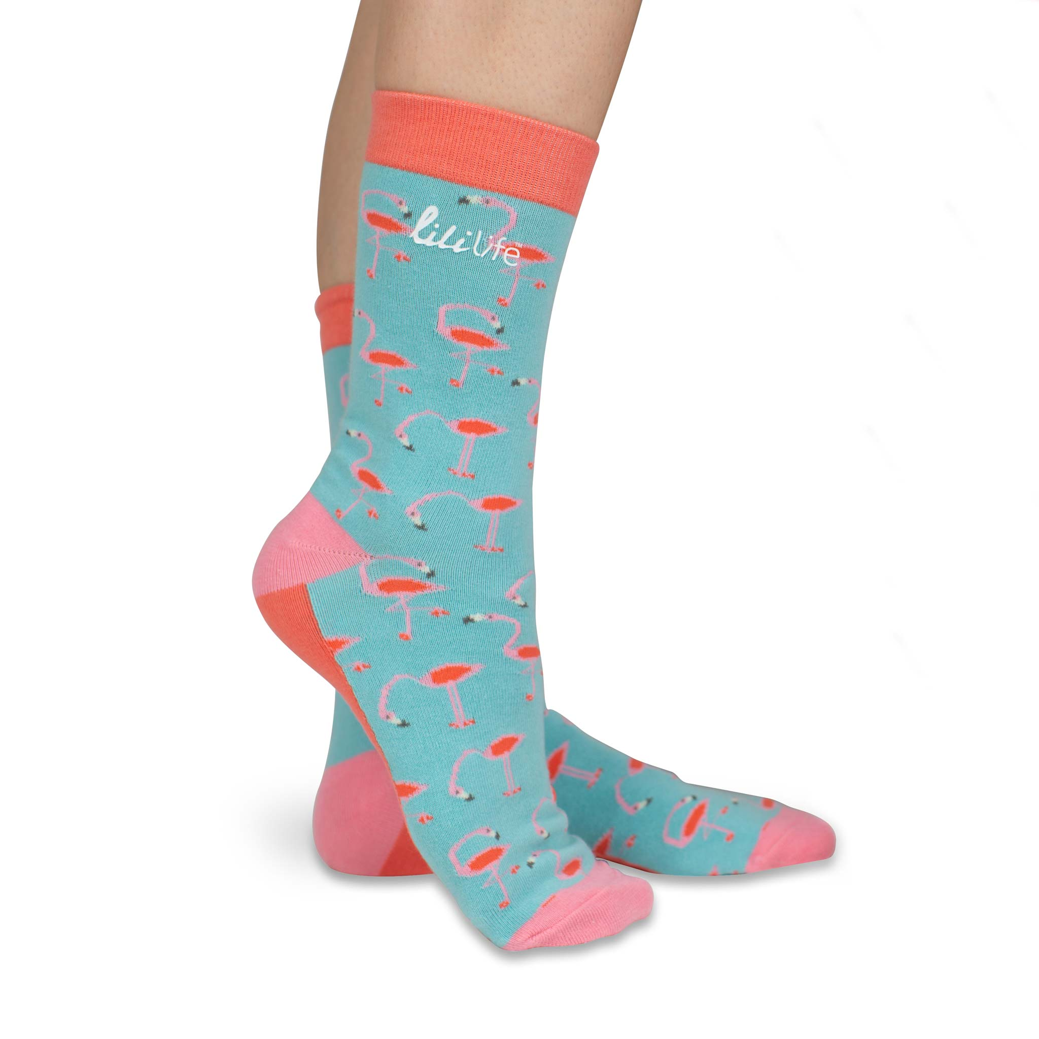 H 'n' H - Retro Flamingo Socks
