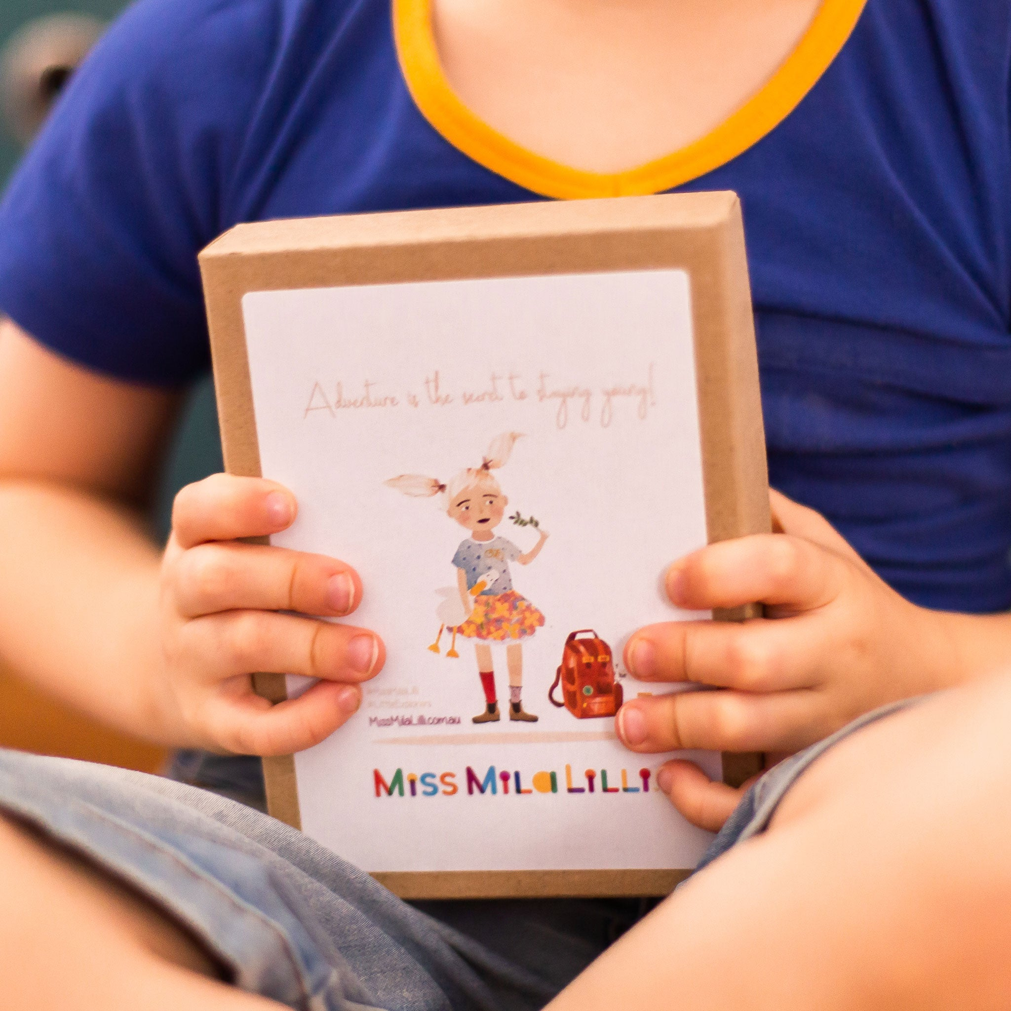 Miss Mila Lilli™ | Alphabet Flashcards