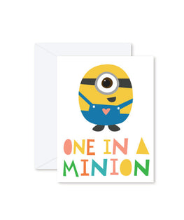 Hello Miss May | One in a Minion Card