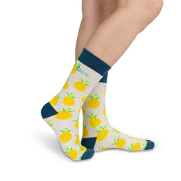 Adult Crew Socks | Pineapples