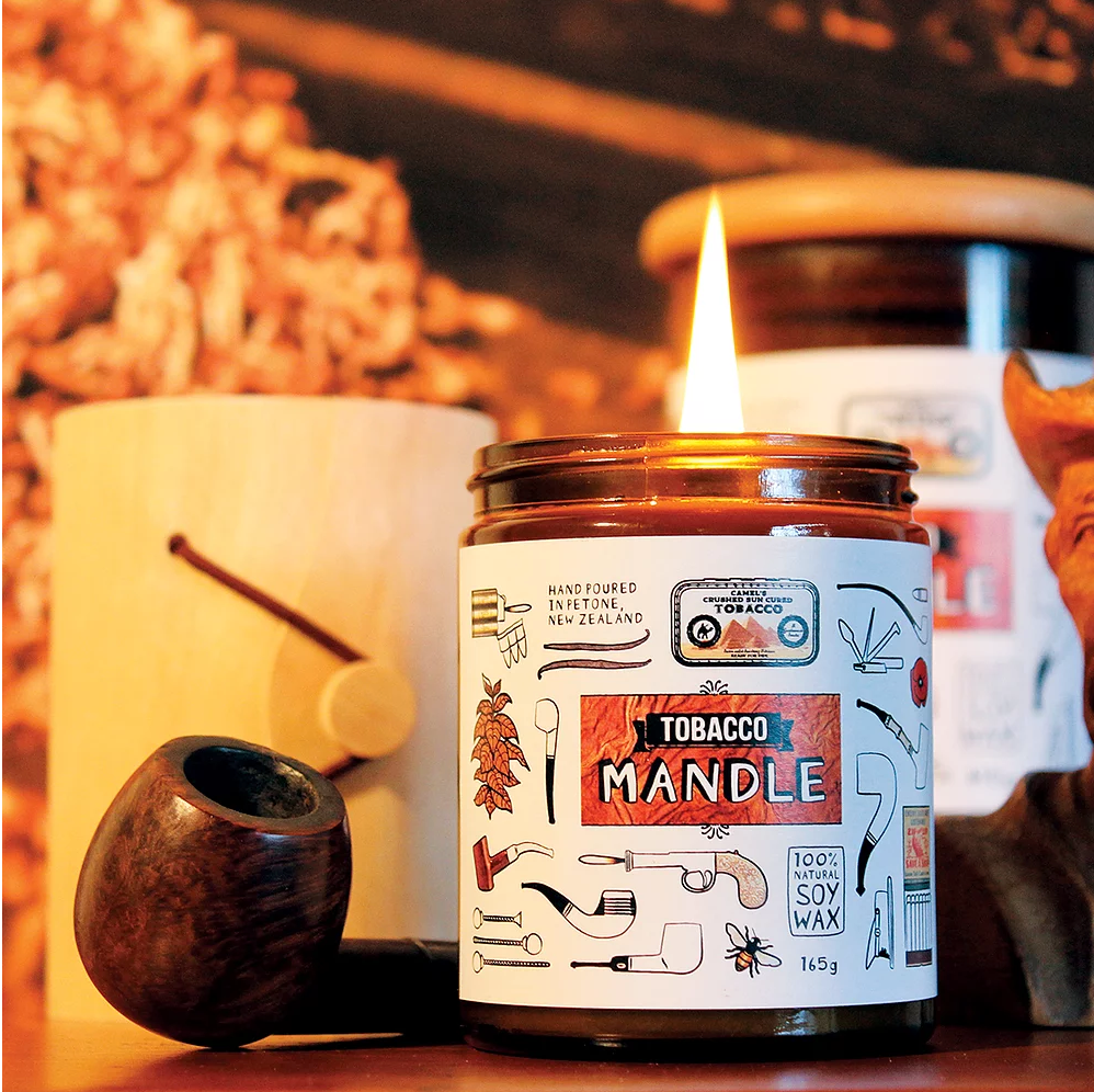 William & Emerson Candles | Tobacco Mandle