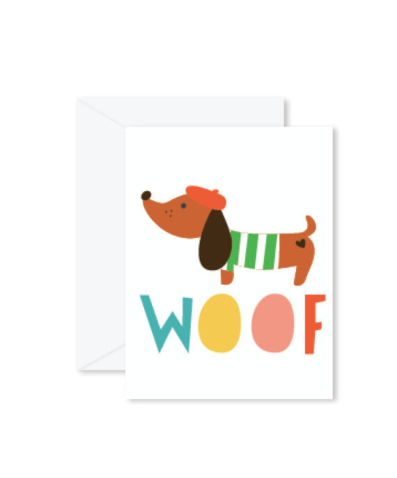 Hello Miss May | Woof Card