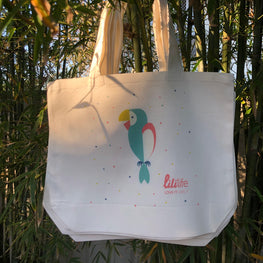 liliLife® Parrot Tote Shopper Bag