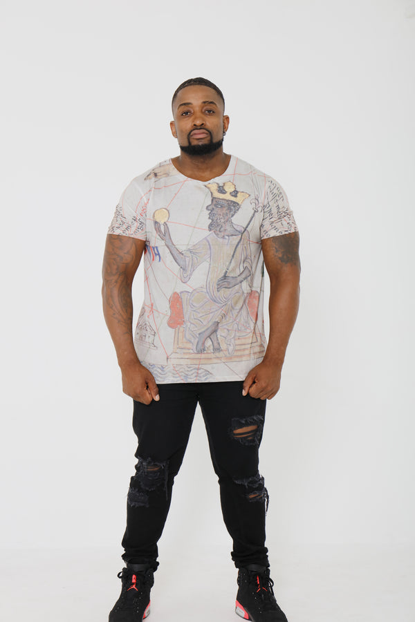 Mansa Musa Short Sleeve T shirt