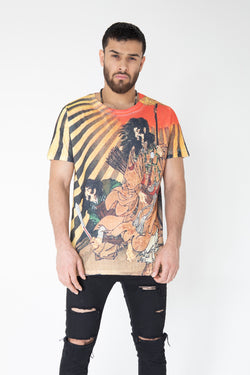 Emperor Jimmu Short sleeve t shirt