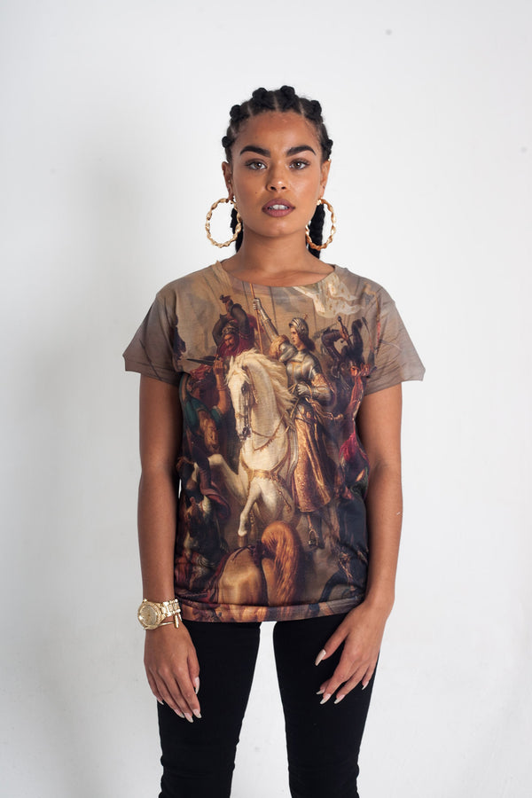 Joan of Arc Short sleeve T shirt