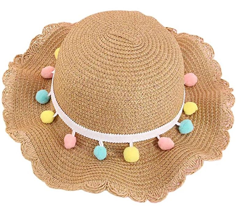 Pom Sun Hat + Purse Set