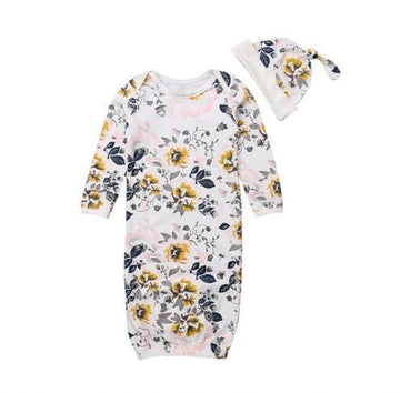 Navy | Baby Sleeper Nightgown | One Size