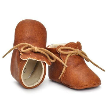 Leather Bear Moccs