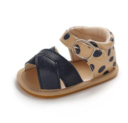 Leopard Baby Sandals