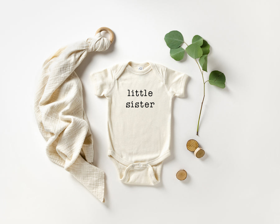 Oh sister | Baby Announcement Bodysuit