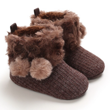 Baby Pom Booties