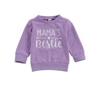 Mama's Bestie Pullover - 2 Colors