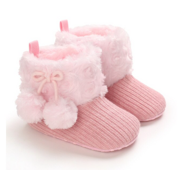 Baby Pom Booties - 2 Colors