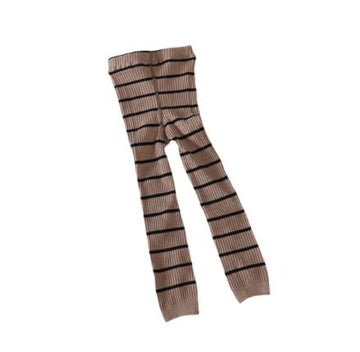 Striped Ribbed Leggings - 3 Colors