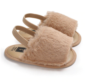 Baby Fuzzy Slippers
