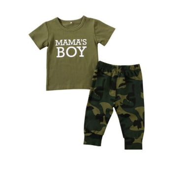 Mama's Boy | 2PC Baby Outfit
