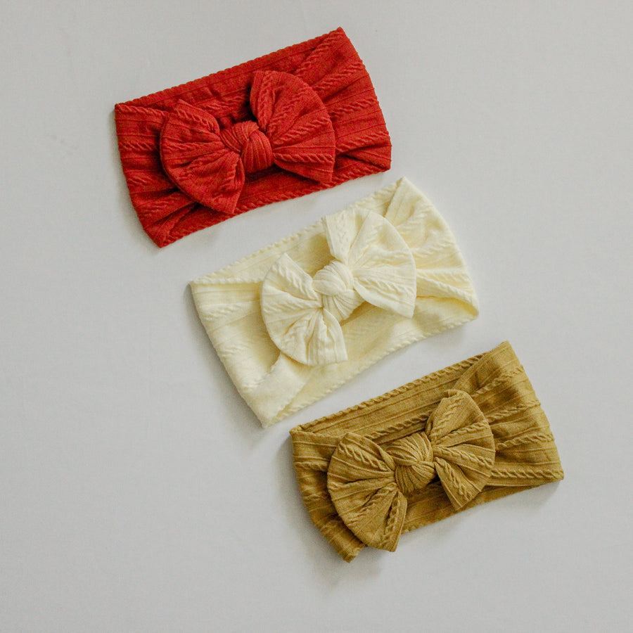 Pack of 3 | Nylon Head-wrap- 3 Colors