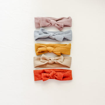 Emily | Knot Headband - 3 Colors