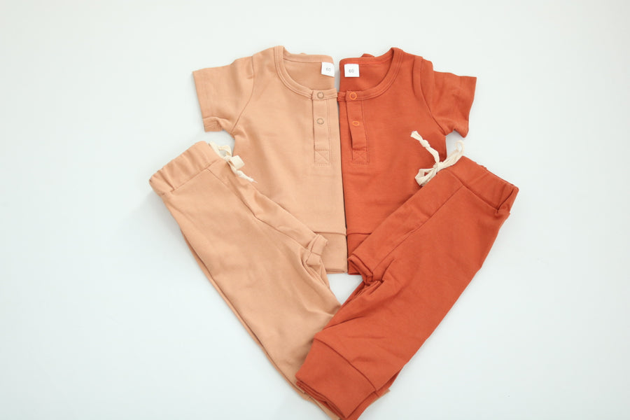 Owen | Top and Bottom Set - 2 Colors