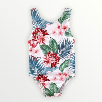 Tropical One Piece Suimsuit