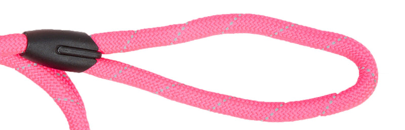 Picture of SimplyWag Nylon Rope Leash in Color White/Black Stripe by SimplyWag for Mission Pets, from Leash