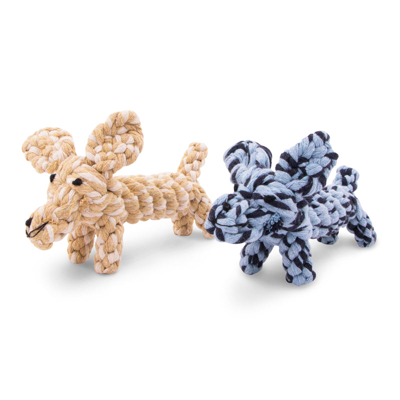 Dog-Knotted Cotton Rope Toy