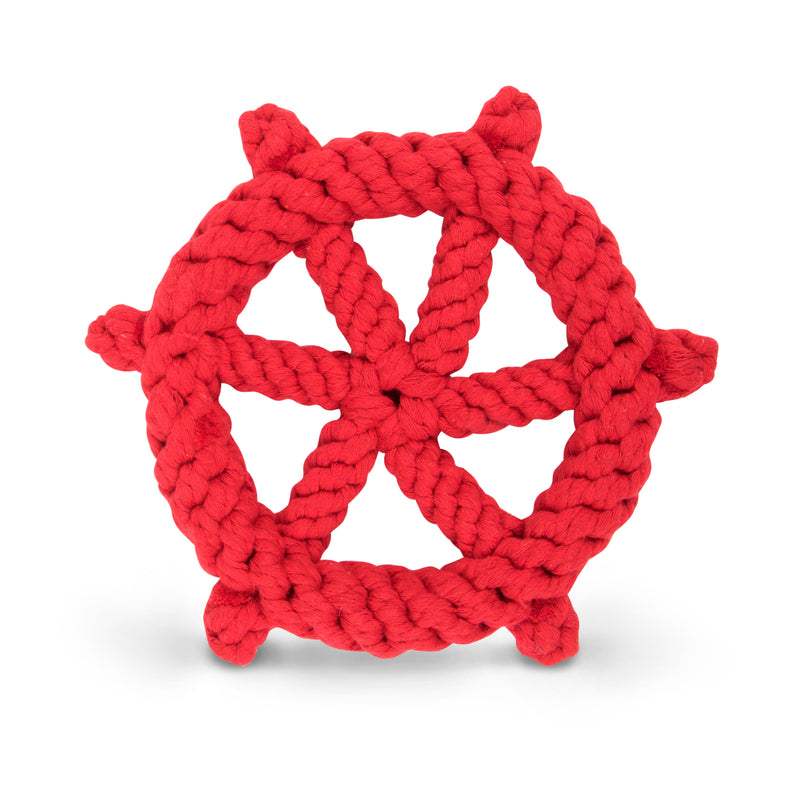 Ship's Wheel Cotton Rope Toy
