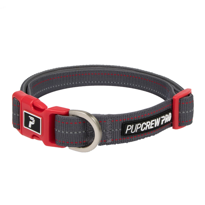 Picture of Pathfinder Collar in Color Rapid Red by Pup Crew Pro for Mission Pets, from Collar