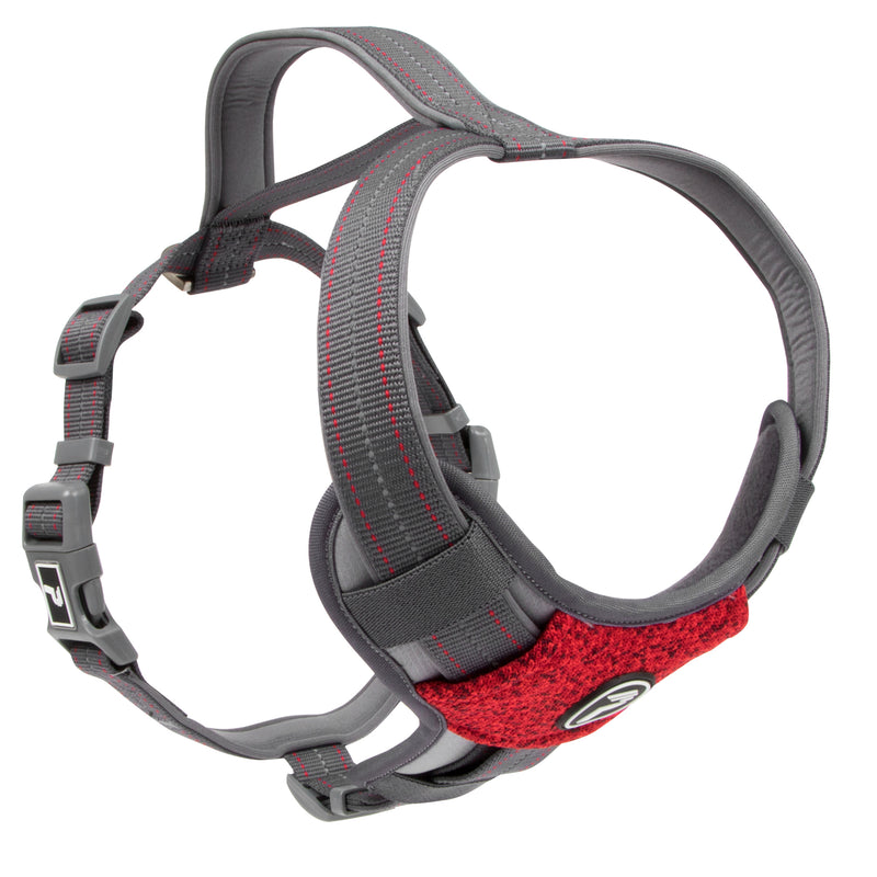 Picture of Pathfinder Harness in Color Rapid Red by Pup Crew Pro for Mission Pets, from Harness