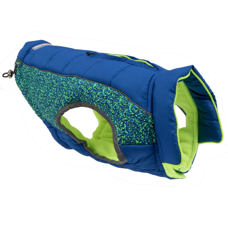 Picture of Daybreak Jacket in Color Blue Wave by Pup Crew Pro for Mission Pets, from Jacket