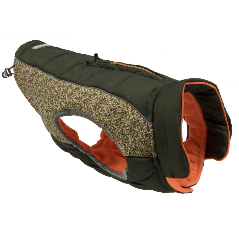 Picture of Daybreak Jacket in Color Olive Shade by Pup Crew Pro for Mission Pets, from Jacket
