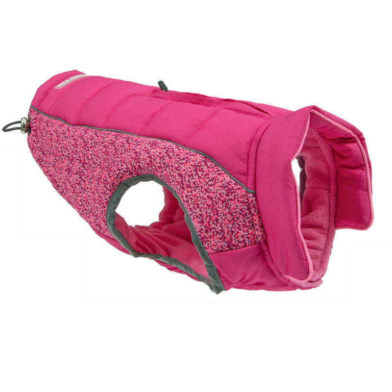 Picture of Daybreak Jacket in Color Blaze Pink by Pup Crew Pro for Mission Pets, from Jacket